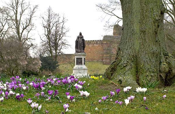 Victoria Monument, Bitts Park, Carlisle