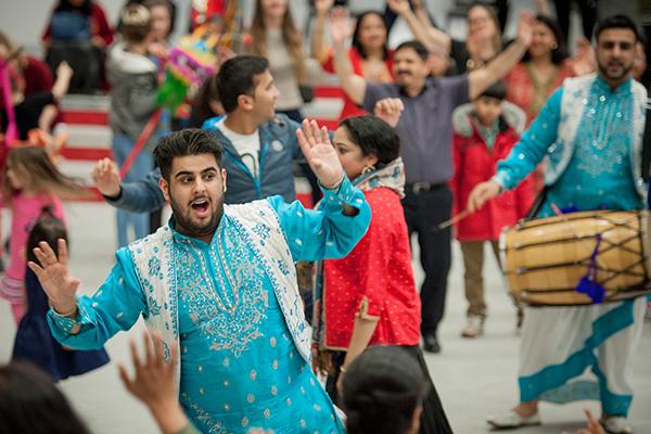 Festival dancers celebrating diversity - Newsquest