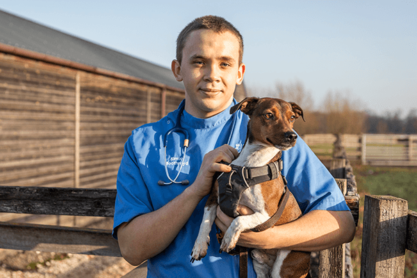 Cumbria Community Foundation Trainee Vet -Simon Boothroyd and Gilbert