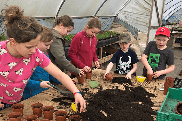 Cumbria Community Foundation Soil Association - Sowing seed