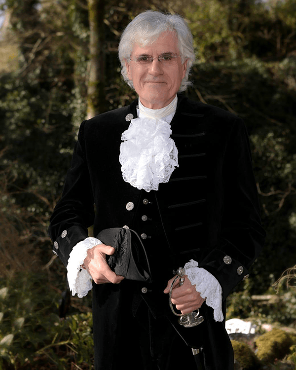 David Beeby High Sheriff of Cumbria in Ceremonial Dress