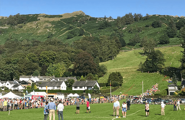 View of crowd at Grasmere Lakeland Sports & Show