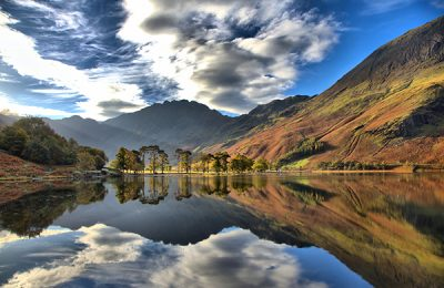 Visit Cumbria - Buttermere Pine and Haystacks